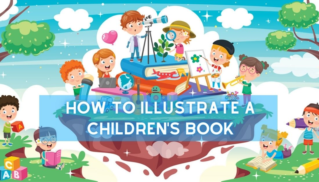 how to illustrate a childrens book