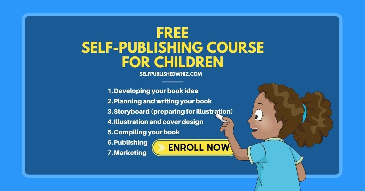 Free Self-Publishing Course For Children
