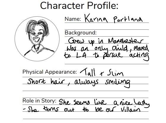 character planner pdf