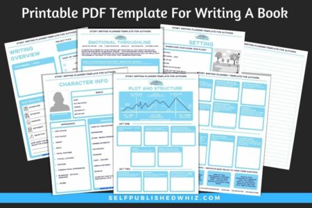 Printable PDF Template For Writing A Book