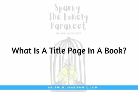What Is A Title Page In A Book?